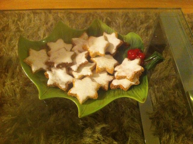 Zimsterne: galletas de almendras y canela