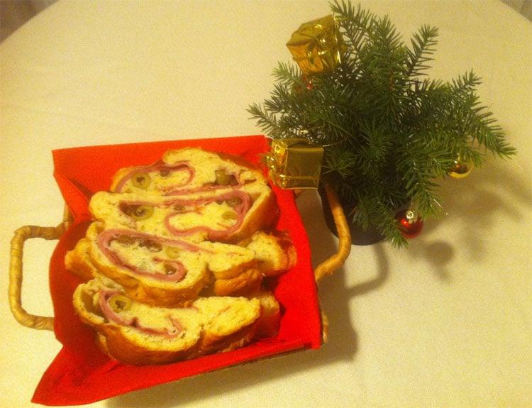 Pan de jamón un plato navideño venezolano