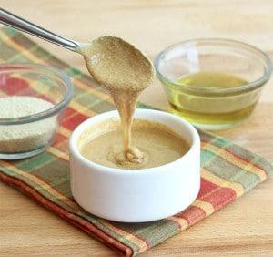 Tahini, ingrediente base para muchos platos del Medio Oriente