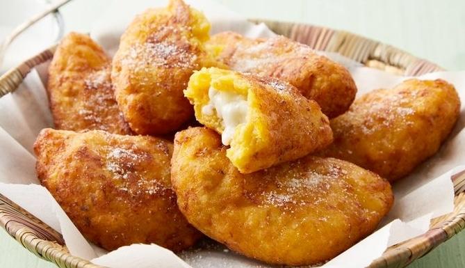 Empanadas de plátano y queso