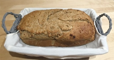 Pan de centeno con musli