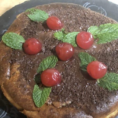 Cheesecake de turrón
