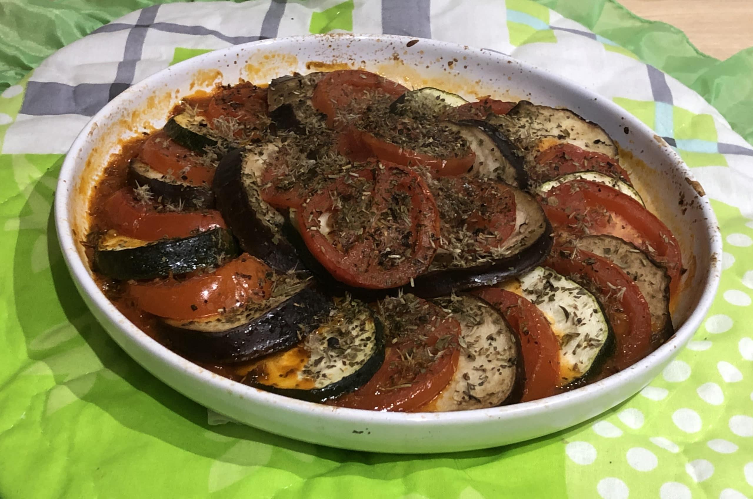 Ratatouille, una delicia vegetariana de la comida francesa